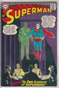 Superman #186 (May-66) FN/VF High-Grade Superman