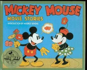 MICKEY MOUSE MOVIE STORIES-1988-HARDCOVER-DISNEY VF