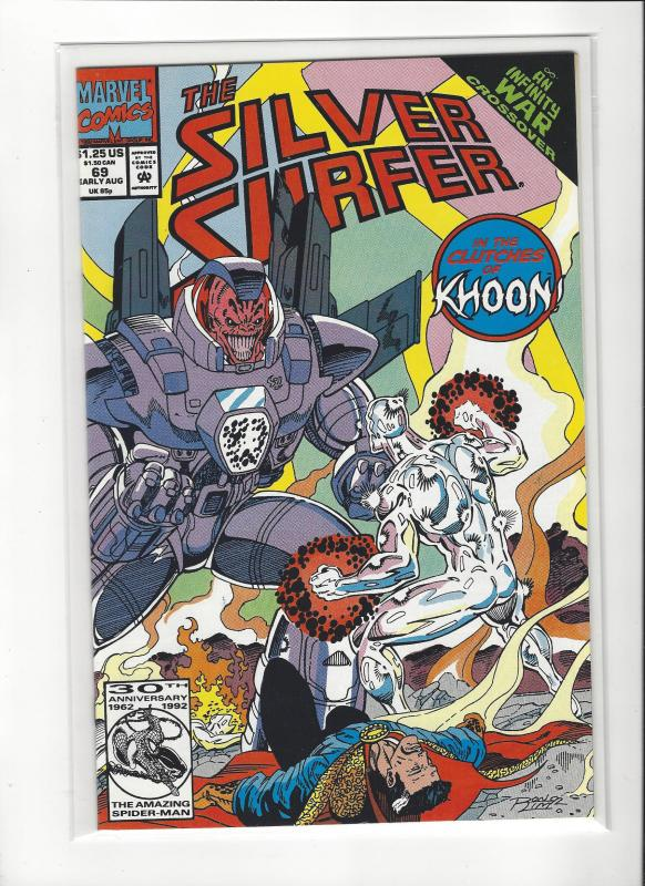 Silver Surfer #69 Marvel Comics Ron Lim NM