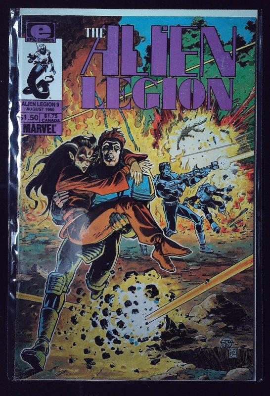 Alien Legion #9 (1985)