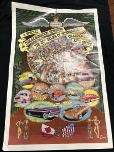 Robt. Williams 20th Ann. of International Auto Shows Poster