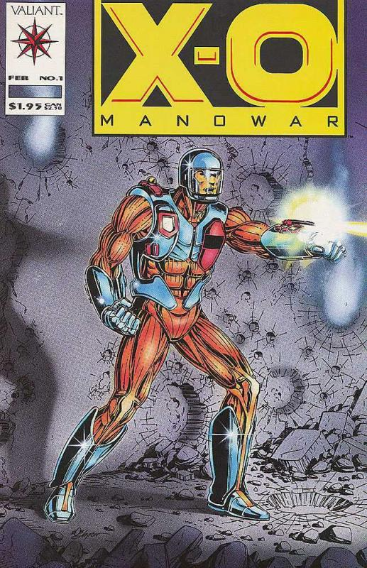X O MANOWAR  10-Different, Armored Super Hero, Instant