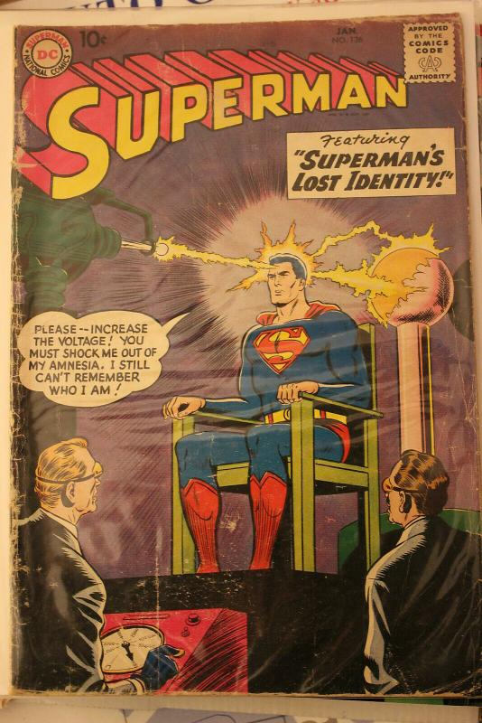 Superman #126 (DC, 1959) Condition: VG