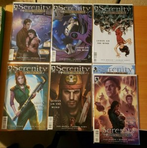 Serenity: Firefly Class 03-K64 1-6 Complete Set Run! ~ NEAR MINT NM ~ 2014