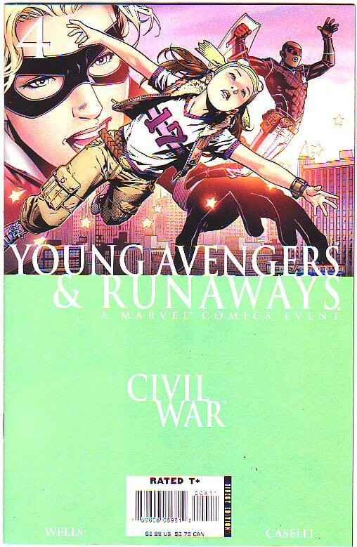 Young Avengers & Runaways #4 (Dec-06) NM Super-High-Grade Young Avengers