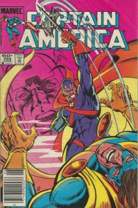 Captain America (1st Series) #294 (Newsstand) VF; Marvel   save on shipping - de