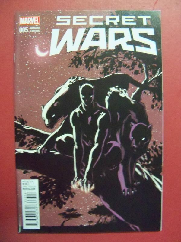 SECRET WARS #5, VARIANT COVER, MARVEL