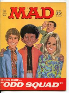 Mad-Magazine-#127-1969-Mort Drucker-Don Martin-David Berg