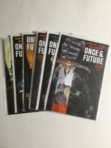 Once And Future 1 2 3 4 5 6 Lot Run Set Near Mint Nm Boom Studios
