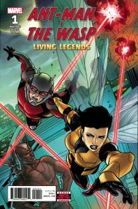 Ant-Man and Wasp Living Legends #1 (Marvel, 2018) NM