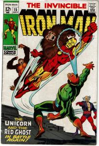 Iron Man #15, 5.0 or Better