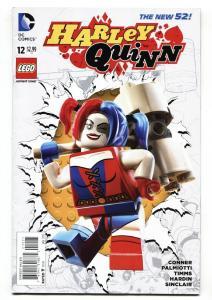 HARLEY QUINN #12 2015--DC-BATMAN-Lego Variant