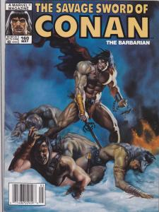 Savage Sword of Conan #160
