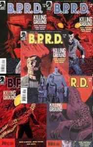 BPRD KILLING GROUND (2007 DH) 1-5  MIGNOLA  complete!