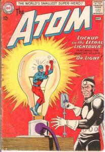 ATOM 8 FR-G  September 1963 JLA X OVER COMICS BOOK