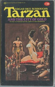 TARZAN and the City of Gold #16 (Ballantine, 1975, 4th Printing) Neal Adams art