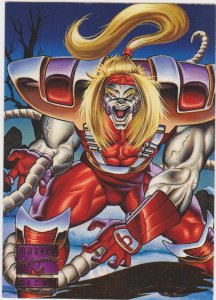1995 Marvel Masterpieces #138 Omega Red