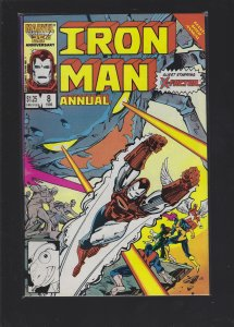Iron Man Annual #8 (1986)