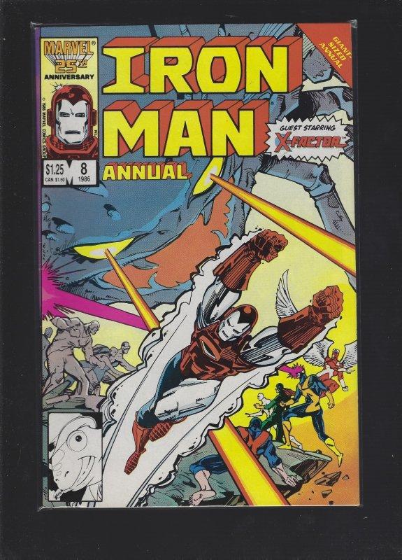 Iron Man Annual #8 (1986)