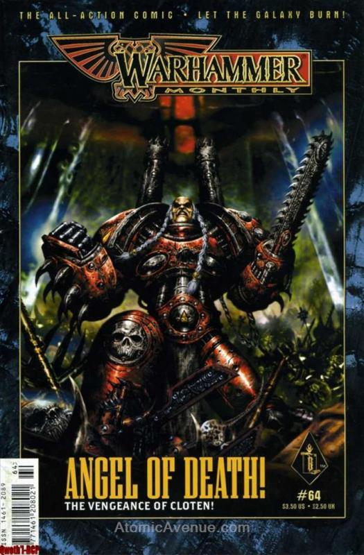 Warhammer Monthly #64 VF/NM; Games Workshop | save on shipping - details inside