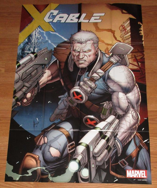 Cable #1 Dale Keown Folded Promo Poster 2017 (24 x 36) New!