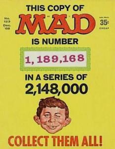 Mad (1952 series) #123, Fine+ (Stock photo)
