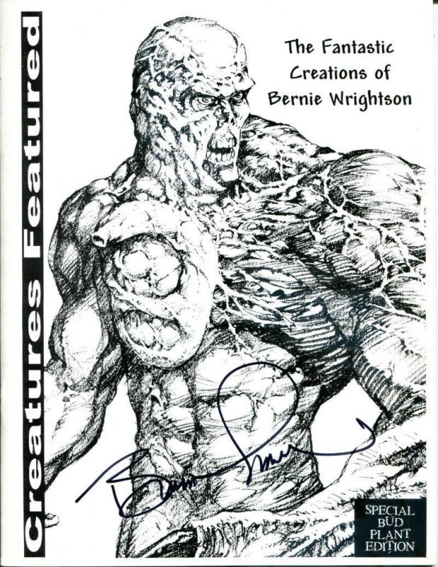 CREATURES FEATURED #1, VF/NM, Signed Bernie Wrightson, 1st, sc, 2000, Limited