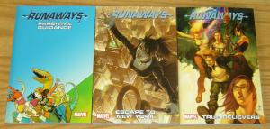 Marvel's Runaways vol. 4 5 6 VF/NM digest size tpb set lot ($29.97 value)
