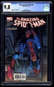 Amazing Spider-Man #505 CGC NM/M 9.8 White Pages