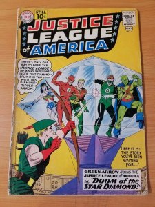 Justice League of America #4 ~ VERY GOOD VG ~ (1961, DC Comics)