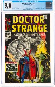 Doctor Strange #169 (1968) CGC Graded 9.0