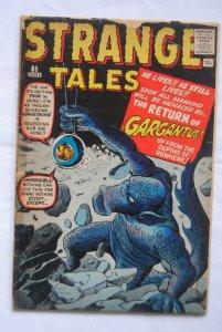 Strange Tales #85