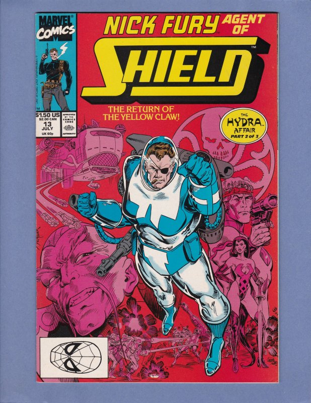Nick Fury Agent of Shield Lot of 16 #1-33 Wolverine Avengers She-Hulk FF