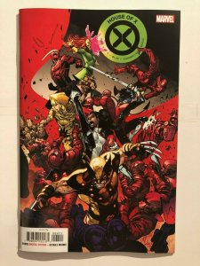 House of X #4 1:50 Cover A - HIGH NEAR MINT GRADE