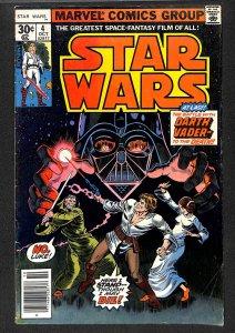 Star Wars #4 VG+ 4.5 Darth Vader!