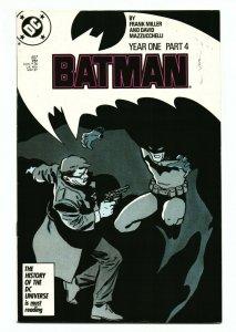 DC! Batman! Year One Part 4! Issue #407