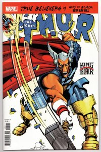 True Believers King In Black Beta Ray Bill #1 Reprints Thor #337 (NM) [ITC553]