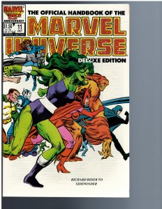 The Official Handbook of the Marvel Universe #11 (1986)