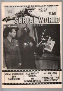 Serial World #14 1978-King of The Royal Mounted-Spy Smasher-FN
