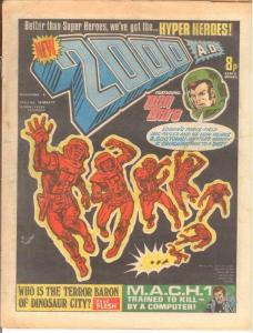 2000 AD 4 VG March 19 1977