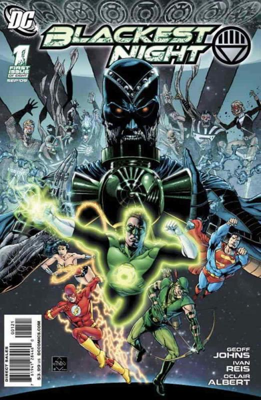 Blackest Night #1A VF/NM; DC | save on shipping - details inside