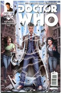 DOCTOR WHO #13 A, NM, 10th, Tardis, 2014, Titan, 1st, more DW in store, Sci-fi