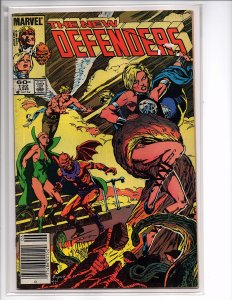 Marvel Comics (1972) The Defenders #132 Valkyrie, Gargoyle, Beast, Iceman, Angel