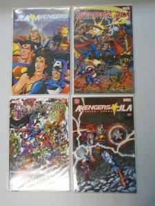 JLA Avengers set #1-4 (2003) 6.0/FN