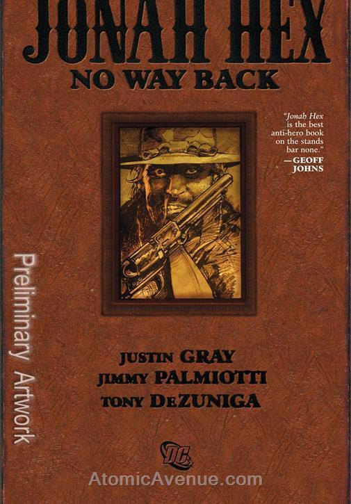 Jonah Hex: No Way Back #1 VF/NM; DC | save on shipping - details inside