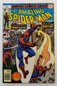 Amazing Spider-Man #167 Marvel Comics 1977 Bronze Age VF+