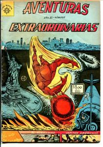 Aventuras Extraordinaries #202 1962-Mexican edition-Young Men #25-Capt America-G