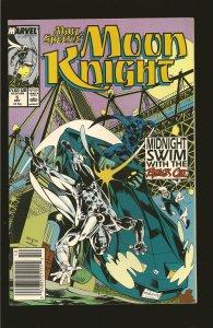 Marvel Comics Moon Knight  Vol 1 No 5 October 1989