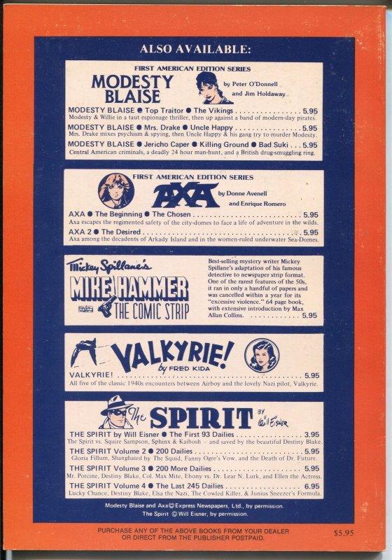Phantom vs The Sky Maidens 1982-reprints 1936-37 comic strip-Lee Falk-Moore-VF-