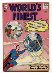 WORLD'S FINEST #114 1960-DC SUPERMAN-BATMAN-ROBIN-GREEN ARROW-vg-